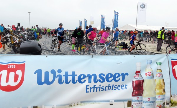 Gegen den Wind Triathlon St. Peter Ording